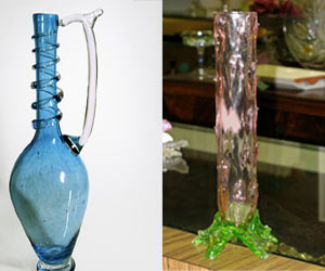 Curved-glass-vases