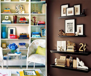 What To Put On Your Shelves And How