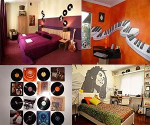 Superb Music Themed Room Decor